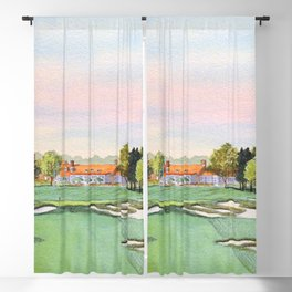 Bethpage State Park Golf Course Blackout Curtain