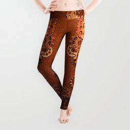steampunk inspired Leggings
