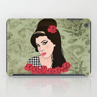 amy sia iPad Cases featuring Amy  by Pendientera
