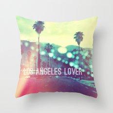 LA Lover Throw Pillow