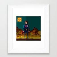 8bit Framed Art Prints featuring 8bit sequal? by pixel.pwn | AK