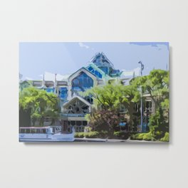 CambridgeSide Galleria Metal Print