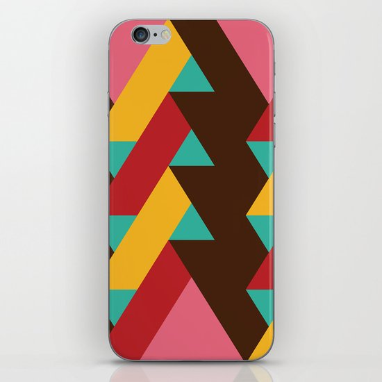Ribbon Pattern 2 iPhone & iPod Skin