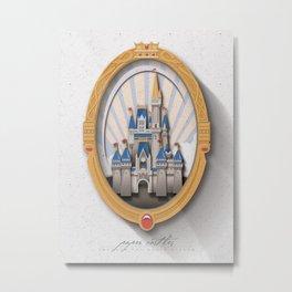 Paper Castle Metal Print