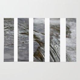 Water Bars Rug