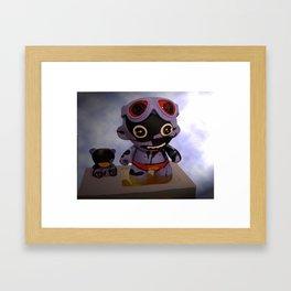 """Superheroes SF"" Framed Art Print"