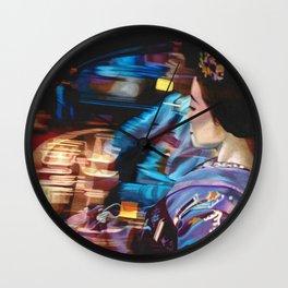 Floating World Wall Clock
