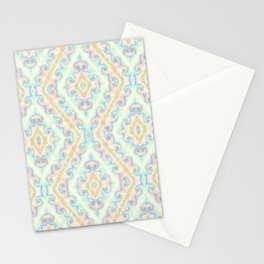 Delicate ornament Stationery Cards