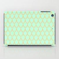 mermaid iPad Cases featuring Mermaid  by Aneela Rashid