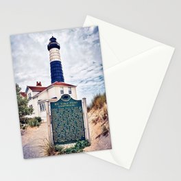 """Big Sable Point Lighthouse"" Stationery Cards"