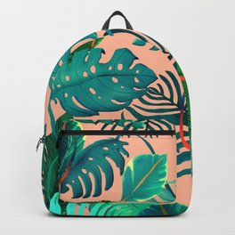 summer topical Nature Backpack