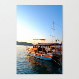 Turkish Waters Canvas Print