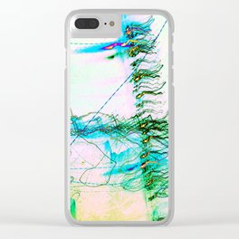 The Rush Aesthetic Clear iPhone Case