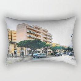 TRapani art 9 Rectangular Pillow