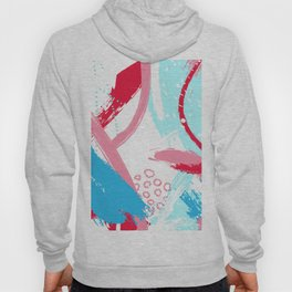 Expressive red Hoody