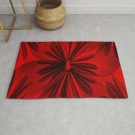 Red Origami Flowers #decor #society6 #buyart Rug