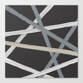Ticker Tape, Stay Neutral Canvas Print