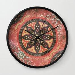 Floret_Flourish_SA_01c Wall Clock