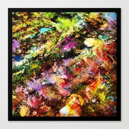 Abstract Texture Canvas Print