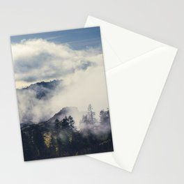 Mountain Clouds Stationery Cards