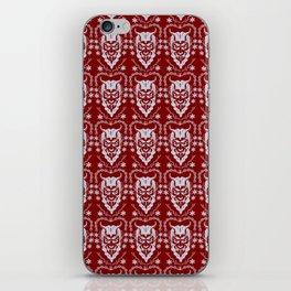 Krampus Red iPhone Skin
