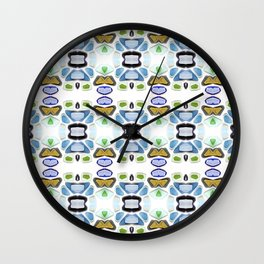Sea Glass 21C Wall Clock