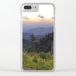 Woolyback Overlook Clear iPhone Case