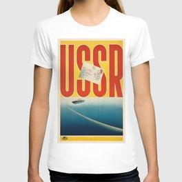 Vintage poster - USSR T-shirt
