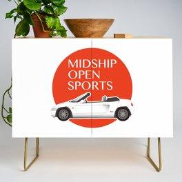 Midship Open Sports Credenza