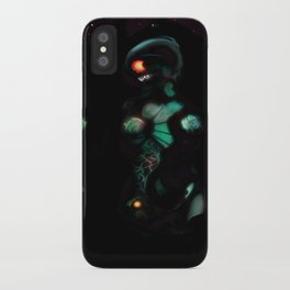 Cyber entities iPhone Case