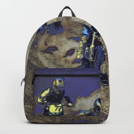 The Home Stretch - Motocross Racers Backpack