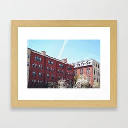 Brooklyn Architecture  Framed Art Print