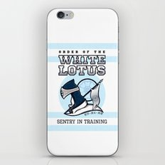 White Lotus in Training iPhone & iPod Skin