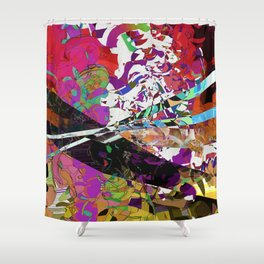 Battle Scene Shower Curtain