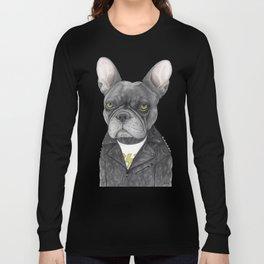Hard Rock French Bulldog Long Sleeve T-shirt
