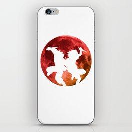 Anime Moon Inspired Shirt iPhone Skin