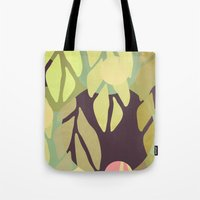 jungle Tote Bags featuring Jungle by VessDSign