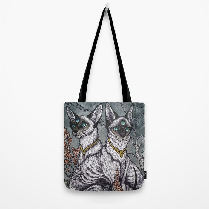 Gift of Sight art print Tote Bag