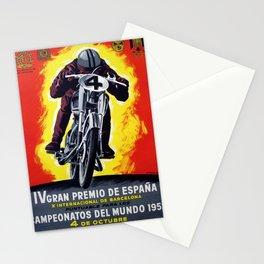 BARCELONA GRAN PREMIO ESPANA Stationery Cards