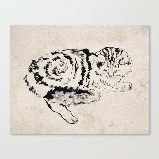 Harryhausen  Canvas Print