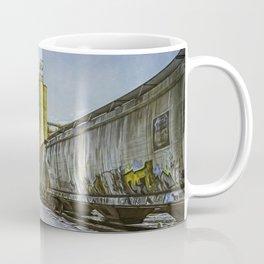 Cold Trains, heh heh. Coffee Mug