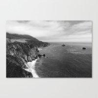 big sur Canvas Prints featuring Big Sur by Sierra Vance