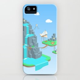Crystal Mountain iPhone Case
