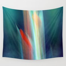 abstract Gladiolus #1 Wall Tapestry