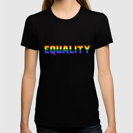 Equality Gay Pride Gift T-shirt