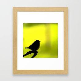 Baby Bird In Early Summer #decor #society6 Framed Art Print