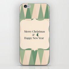 Merry Christmas & Happy New Year - Holidaze iPhone & iPod Skin