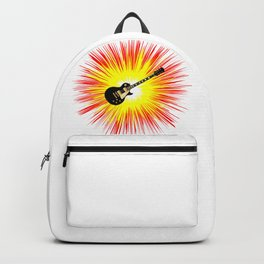 Blues Guitar Flash Backpack