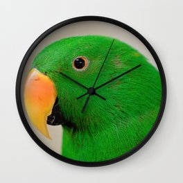 Spectacular in Green Wall Clock