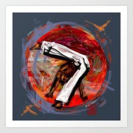 Capoeira 545 Art Print